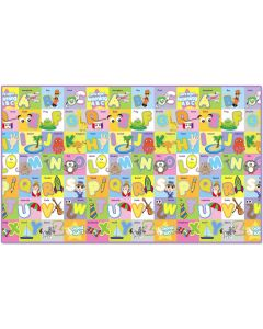 Large Alphabet Playmat Vinyl 2m x1.2m