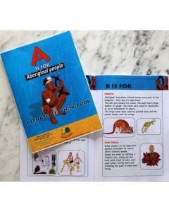 A is for Aborigine Alphabet Learning Book