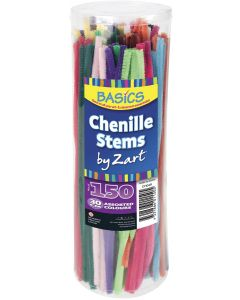 Chenille Stems Multicolour 30cm x 150pcs