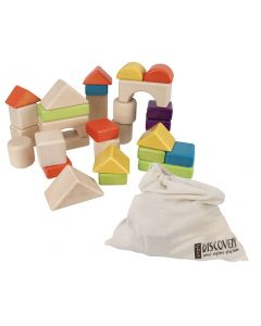 Discovery Building Blocks in Calico bag 30pcs