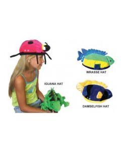 Iguana, Wrasse & Damselfish Hat Set