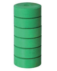 Refill Blocks Brilliant Green 6pcs