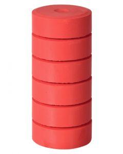 Refill Blocks Brilliant Red 6pcs
