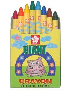 Sakura Giant Crayons 8pcs