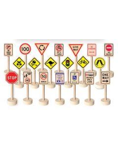 Traffic Signs 20pcs