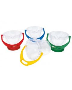 Transparent Bucket with Spout & Handle 13cmH