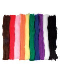 Synthetic Wool Hanks 10pcs