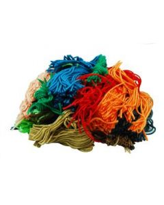Assorted Wool Scraps 150gm